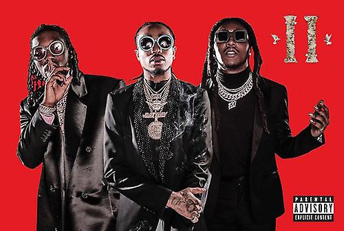 Migos Poster Culture Ii Music Wall Art Large Print (24x36)