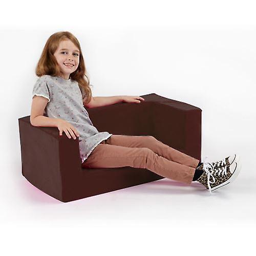 Children's Mini Sofa Foam Comfy Brown rxeEBdCoWQ