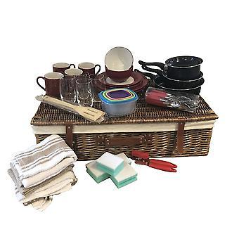University College First Home Kitchen Essential Starter Kit Under Bed Storage