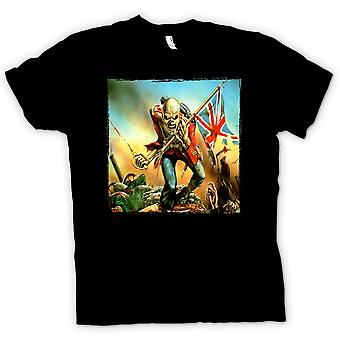 Kids T-shirt - Iron Maiden - Trooper - albumkunst