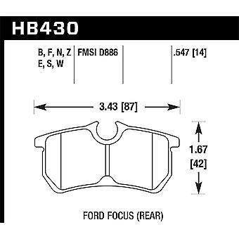 Hawk Performance HB430N. 547 HP plus