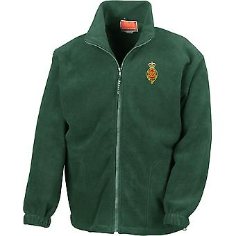 Royal Horse Guards Cypher - Licensed British Army Embroidered Heavyweight Fleece Jacket