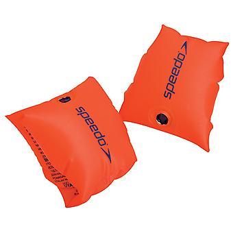 Speedo Sea Squad kinderen baby zwembad armbandjes oranje