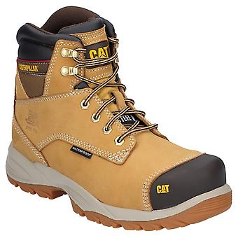 Caterpillar Mens Spiro Lace Up Waterproof Safety Boot