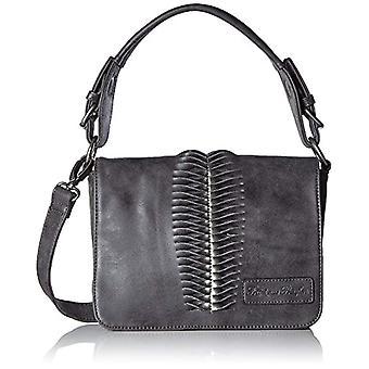 Fritzi aus Preussen Clareta - Donna Schwarz Bag (Black) 8x18x24 cm (B x H T)
