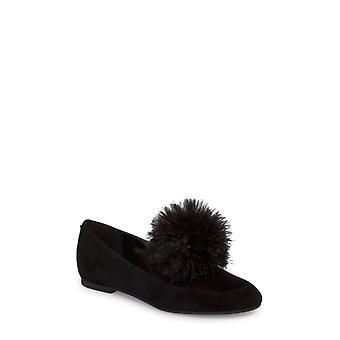 Michael Kors Womens Fara Leather Almond Toe Loafers