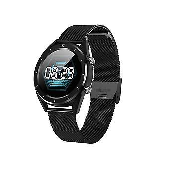 DT28 smartwatch-Black, bucle milanés