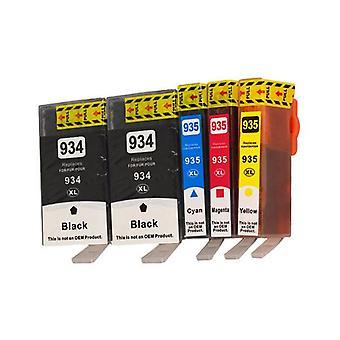 934XL Series Compatible Inkjet Cartridge Set PLUS Extra Black