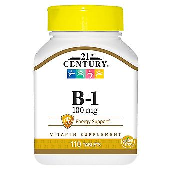 21st century b-1, 100 mg, tablets, 110 ea