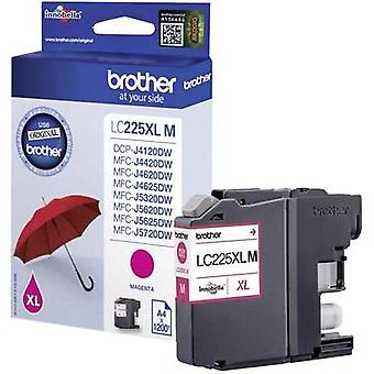 Brother Ink LC-225XLM opprinnelige Magenta LC225XLM