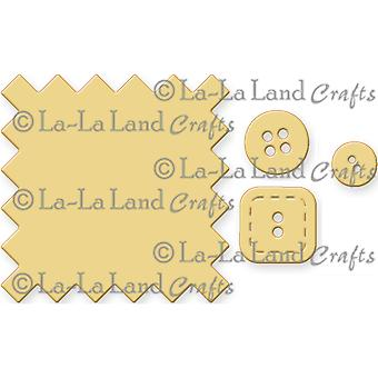 La-La Land Die-Swatch And Buttons LL8181