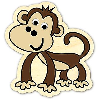 Wood Painting Kit-Monkey 335-70-640