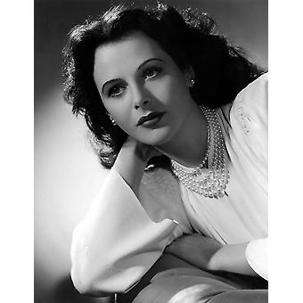 Hedy Lamarr 1942 foto door Clarence Bull foto afdrukken