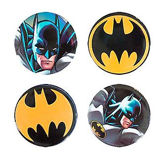Batman 4 Pack knappar
