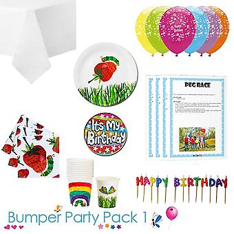 The Hungry Caterpillar Party Tableware Bumper Pack 1