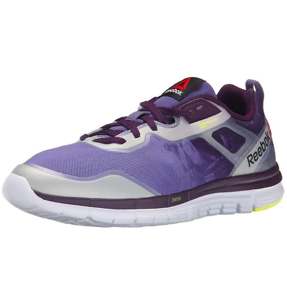 Reebok Women's ZQuick Tempo Soul Running Shoes - Purple/Orchid/White/Yellow