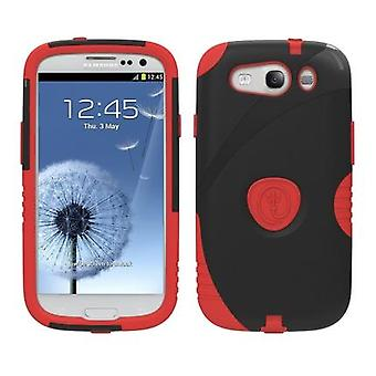 Trident - Aegis Protective Case for Samsung Galaxy S III - Red