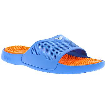 arena shoes slippers Marco X grip polybag + hook blue