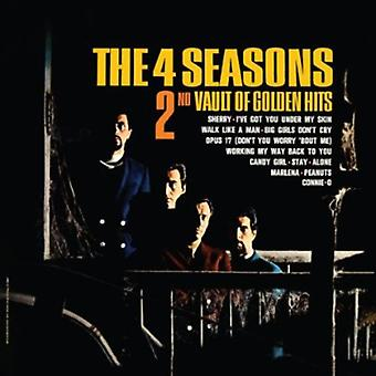 Frankie Valli & de fyra årstiderna - 2nd valv av Golden Hits [CD] USA import