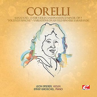 A. Corelli - Sonata 12 Violin Piano D Minor/Folies D'Espagne [CD] USA import