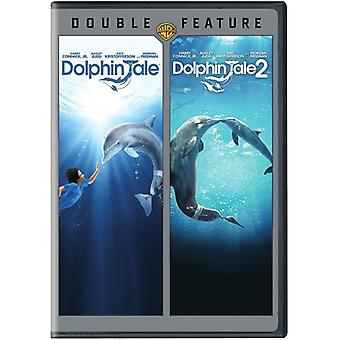 Dolphin Tale / Dolphin Tale 2 [DVD] USA import