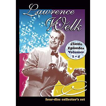 Lawrence Welk Show: Vol. 1-4 [DVD] USA importerer