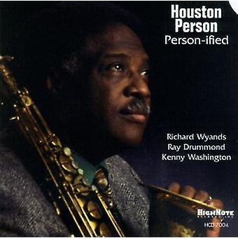 Houston Person - Person-ceret [CD] USA importerer