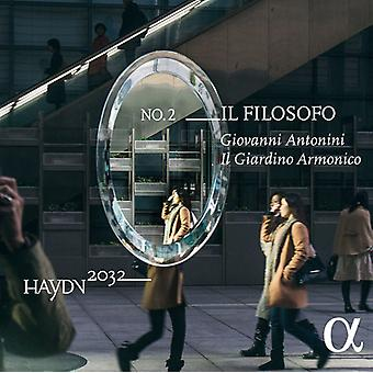 Il Giardino Armonico - Haydn W.F. Bach: Il Filosofo [CD] USA import