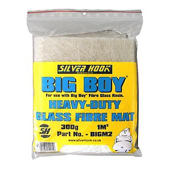 Silverhook Big Boy Glass Fibre Mats for Car and Boat Body and Paint Shop Repair for 1 sqm with 300g