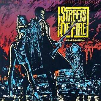 Forskellige kunstnere - gaderne i brand [CD] USA import
