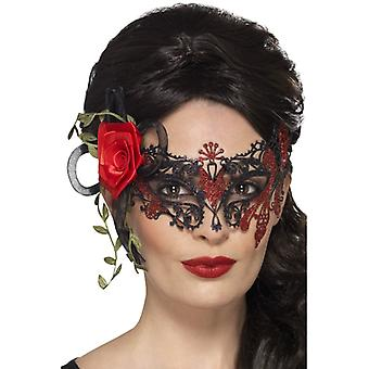Day of the dead metal filigree Eyemask