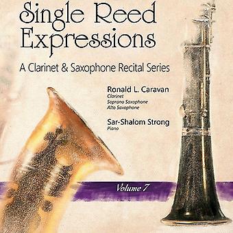 Bernstein / Siegmeister / Starer / Worley - enkelt Reed udtryk: A klarinet & Sax V7 [CD] USA import
