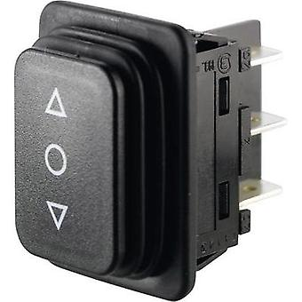 Toggle switch 250 Vac 14 A 2 x (On)/Off/(On) Marquardt