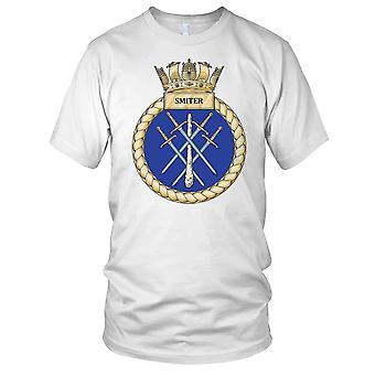 Royal Navy HMS Smiter Ladies T Shirt