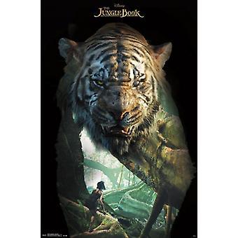 Le livre de la Jungle - Shere Khan affiche Poster Print