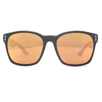 Dragon Liege H20 Sunglasses In Matte Black Rose Gold Ionized