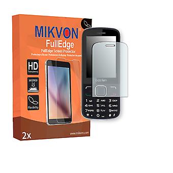 Bea-fon C150 screen protector - Mikvon FullEdge (screen protector with full protection and custom fit for the curved display)