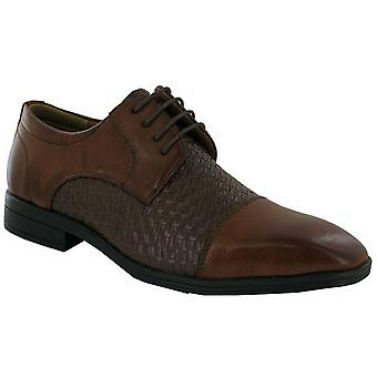 Mens New Lace Up Wedding Dress Office Work Smart Formal Oxford Shoes