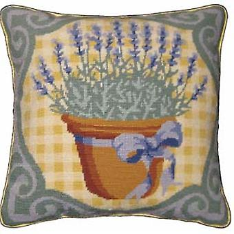 Lavender Needlepoint Canvas