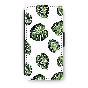 iPhone 8 Plus Flip Case - Tropical lämnar