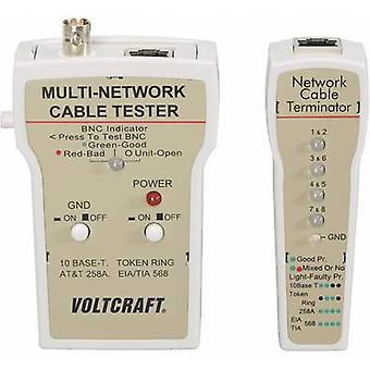 VOLTCRAFT CT-1 Cable tester Suitable for RJ-45, BNC