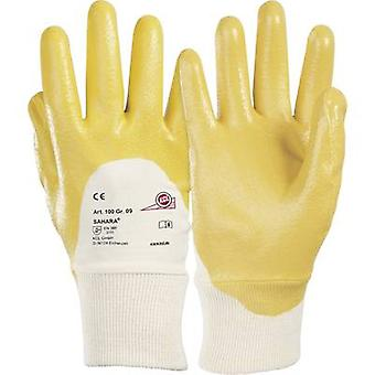 KCL 100 Glove Sahara 100% cotton jersey with special nitrile coating