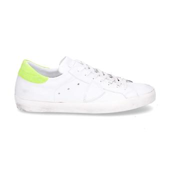 Philippe model men's CLLUVN03 White leather of sneakers