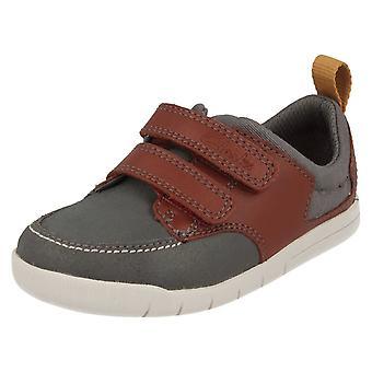 Spædbarn drenge Clarks første Casual sko skøre Jay