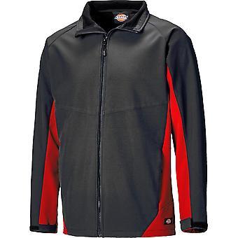 Dickies Mens Maywood Waterproof Breathable Two Tone Softshell Jacket
