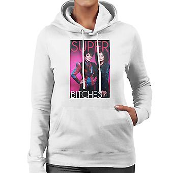 Joan Collins Kate O'Mara Dynasty Super Bitches Women's Hooded Sweatshirt