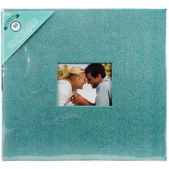 Colorbok paillettes Post lié Album 12 « X 12 »-Teal 71872D