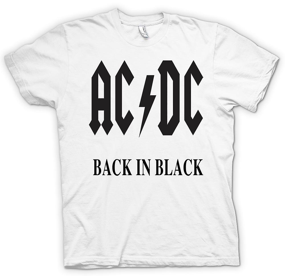 Womens T-shirt-AC/DC Back In Black