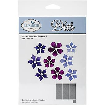 Elizabeth Craft Metal Die-Bunch Of Flowers 3, 4.92