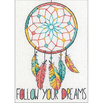 Dreamcatcher Mini Counted Cross Stitch Kit-5